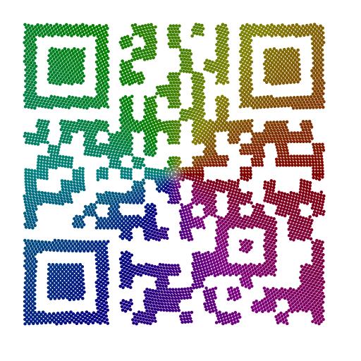 Abb. 4: QR-Code aus zusammengesetzten Modulen